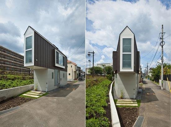 Μικροσκοπικό και μινιμαλιστικό σπίτι στο Τόκιο (1)