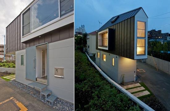Μικροσκοπικό και μινιμαλιστικό σπίτι στο Τόκιο (2)