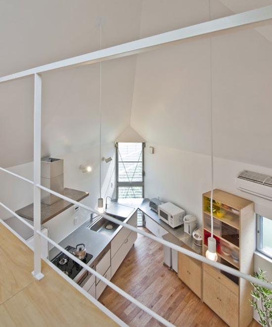 Μικροσκοπικό και μινιμαλιστικό σπίτι στο Τόκιο (8)