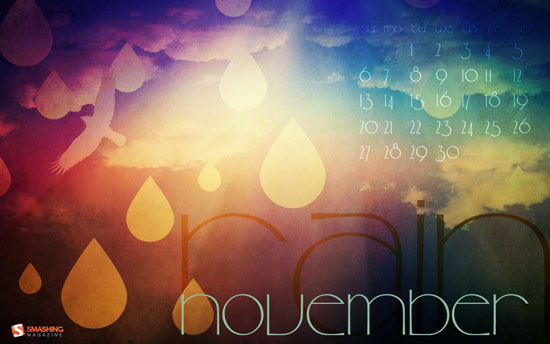 Wallpapers ημερολόγια Νοεμβρίου 2011 (1)