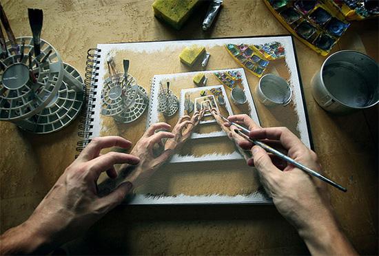 Φωτογραφία της ημέρας: Ζωγράφισε ό,τι βλέπεις