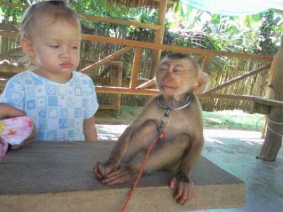 Φωτογραφία της ημέρας: Me and my monkey