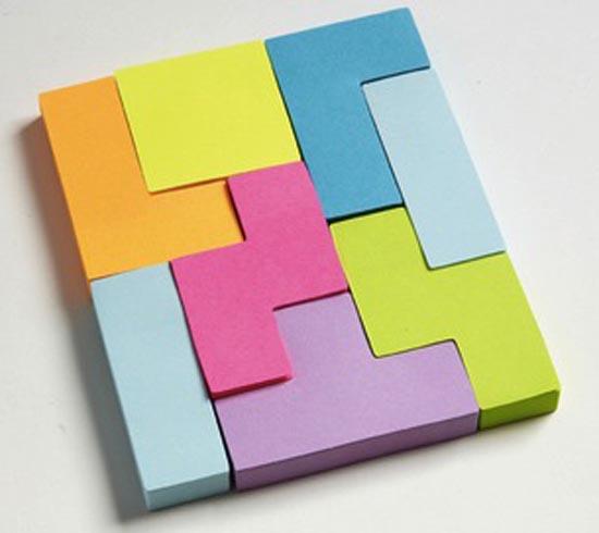 Post-It σε σχήμα Tetris (2)