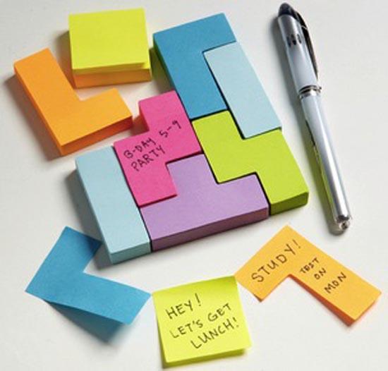 Post-It σε σχήμα Tetris (3)
