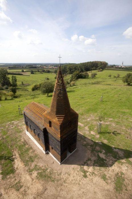 See-through εκκλησία στο Βέλγιο (2)