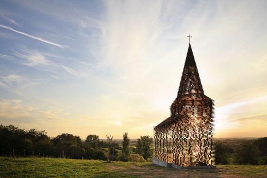 See-through εκκλησία στο Βέλγιο (4)