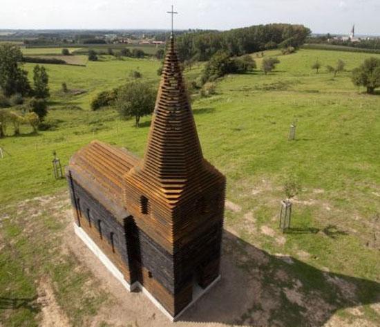 See-through εκκλησία στο Βέλγιο (1)