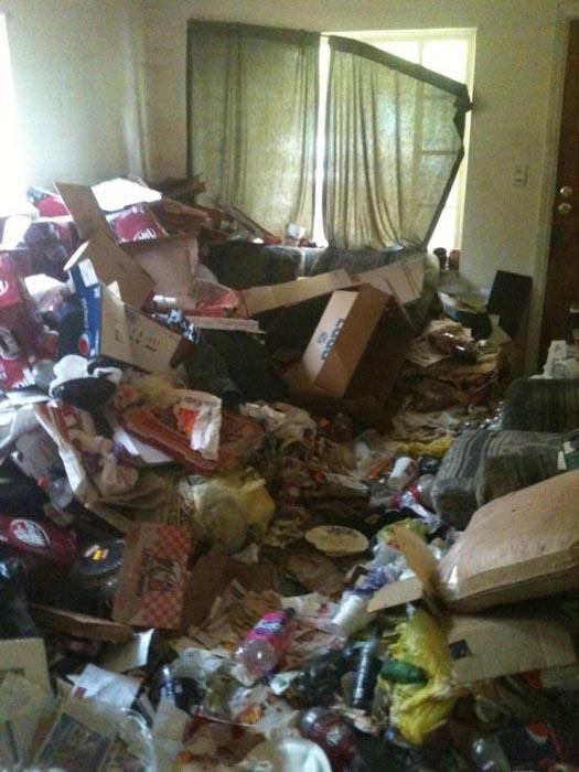 Σπίτι... χωματερή! (2)