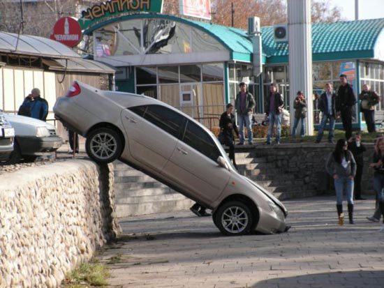 Ωραίο παρκάρισμα, κορίτσια! (2)