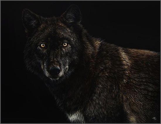 Ζωγραφιές ζώων που μοιάζουν αληθινές (3)