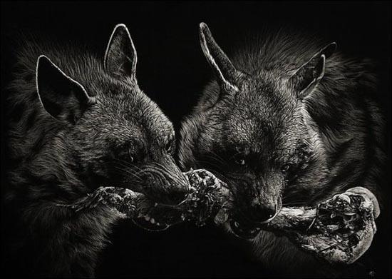 Ζωγραφιές ζώων που μοιάζουν αληθινές (4)