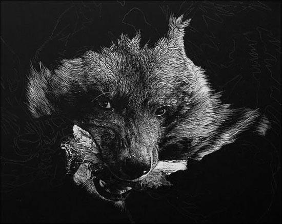 Ζωγραφιές ζώων που μοιάζουν αληθινές (7)