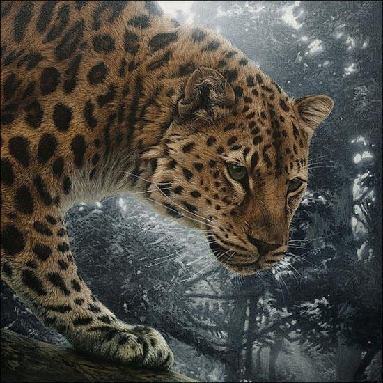 Ζωγραφιές ζώων που μοιάζουν αληθινές (11)
