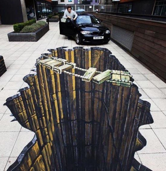 3D Ζωγραφιές στο δρόμο (1)