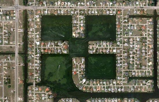Ανθρώπινες δημιουργίες σε εντυπωσιακές δορυφορικές φωτογραφίες (5)