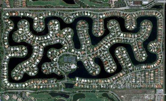 Ανθρώπινες δημιουργίες σε εντυπωσιακές δορυφορικές φωτογραφίες (8)