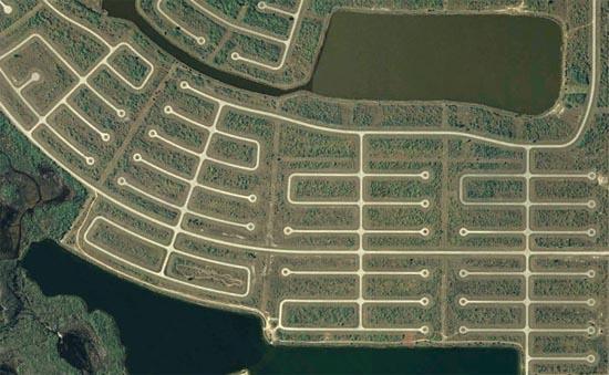 Ανθρώπινες δημιουργίες σε εντυπωσιακές δορυφορικές φωτογραφίες (9)