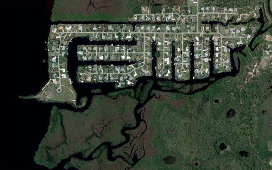Ανθρώπινες δημιουργίες σε εντυπωσιακές δορυφορικές φωτογραφίες (12)