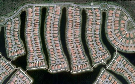 Ανθρώπινες δημιουργίες σε εντυπωσιακές δορυφορικές φωτογραφίες (21)