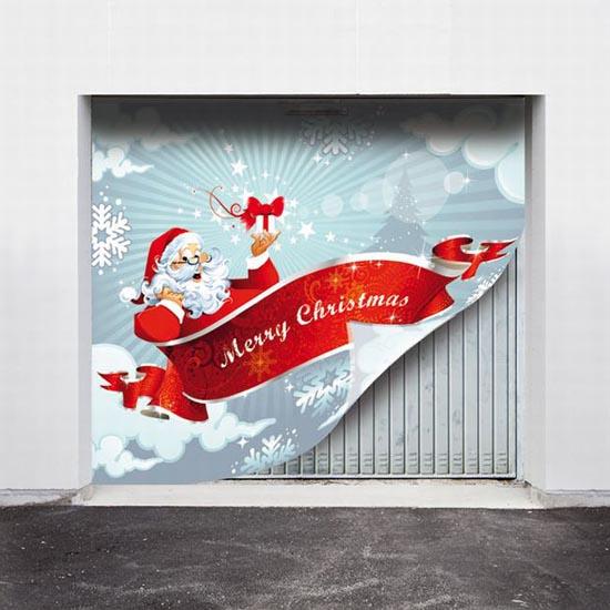 Απίστευτες Χριστουγεννιάτικες διακοσμήσεις σε γκαραζόπορτες (4)