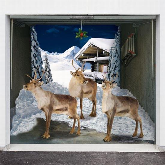 Απίστευτες Χριστουγεννιάτικες διακοσμήσεις σε γκαραζόπορτες (5)