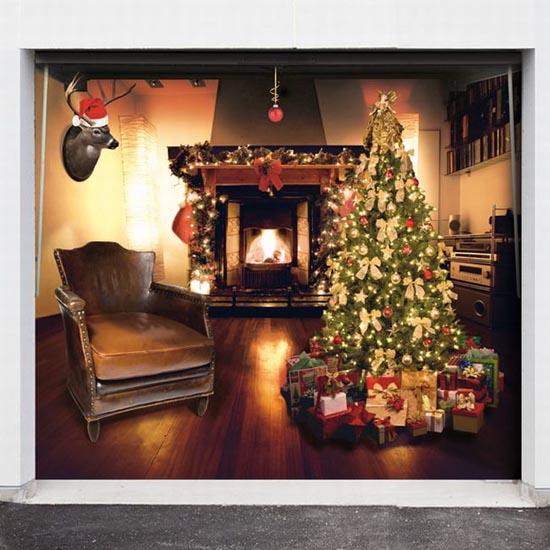 Απίστευτες Χριστουγεννιάτικες διακοσμήσεις σε γκαραζόπορτες (10)