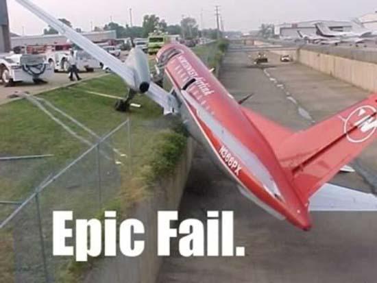 Αποτυχημένες απόπειρες προσγείωσης (9)