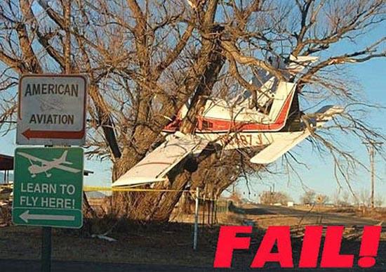 Αποτυχημένες απόπειρες προσγείωσης (1)
