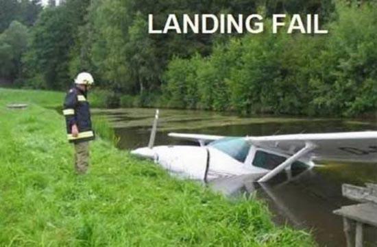 Αποτυχημένες απόπειρες προσγείωσης (6)