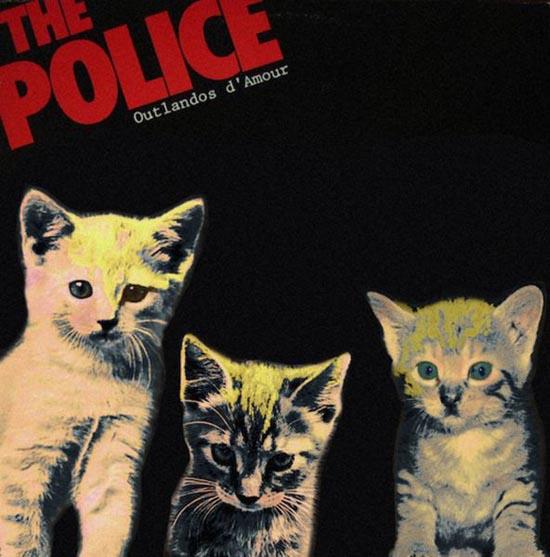 Διάσημα εξώφυλλα δίσκων... με γάτες! (6)