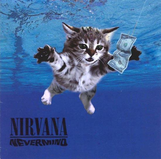 Διάσημα εξώφυλλα δίσκων... με γάτες! (7)