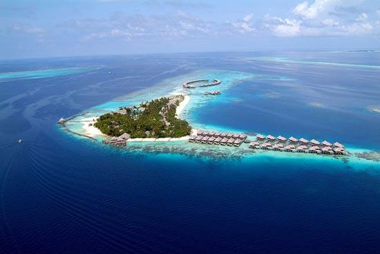 Εντυπωσιακό θέρετρο στις Μαλδίβες (1)