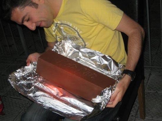 Πως να φτιάξετε μια γιγαντιαία Kit-Kat (9)