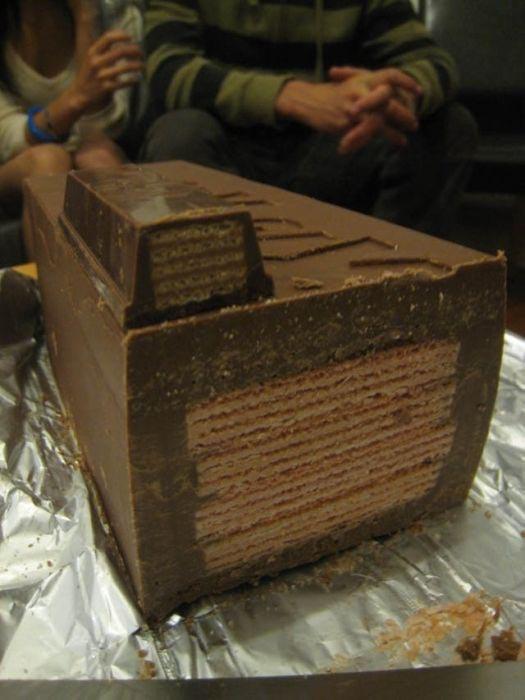 Πως να φτιάξετε μια γιγαντιαία Kit-Kat (10)