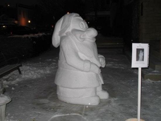 Γλυπτά από χιόνι (6)