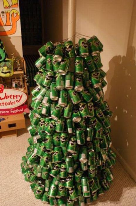 Πως να φτιάξετε ένα... «ξεχωριστό» χριστουγεννιάτικο δέντρο (9)