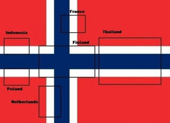 Τι κρύβει η σημαία της Νορβηγίας; (2)