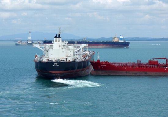 Η παρολίγον σύγκρουση δύο tankers (2)