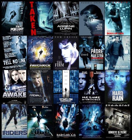 Posters ταινιών: Τα μεγαλύτερα κλισέ (9)