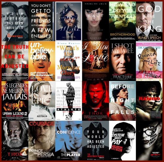 Posters ταινιών: Τα μεγαλύτερα κλισέ (14)