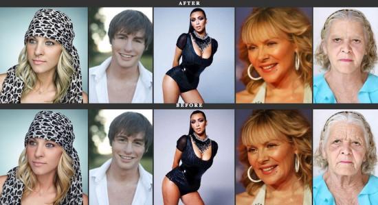 Πριν & μετά το Photoshop (5)