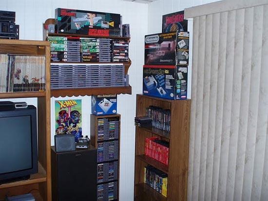 Ρετρό δωμάτιο gaming που ξυπνάει αναμνήσεις (11)