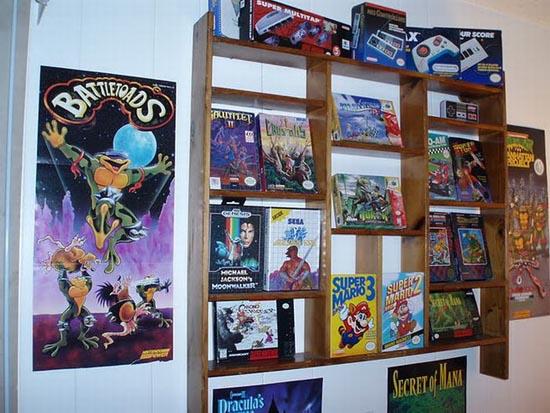 Ρετρό δωμάτιο gaming που ξυπνάει αναμνήσεις (16)
