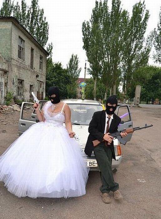 Τρελή φωτογράφιση γάμου στην Ουκρανία (4)