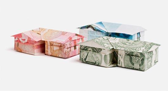 Υπέροχη τέχνη origami με χαρτονομίσματα (1)