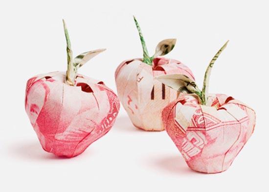 Υπέροχη τέχνη origami με χαρτονομίσματα (7)