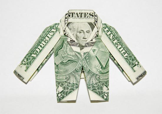 Υπέροχη τέχνη origami με χαρτονομίσματα (11)
