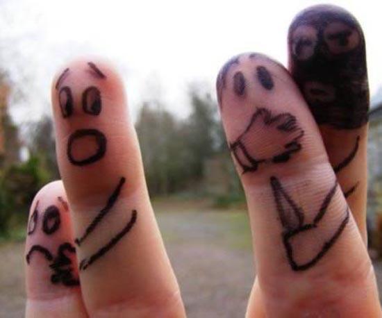 Ζωγραφική στα... δάχτυλα! (2)