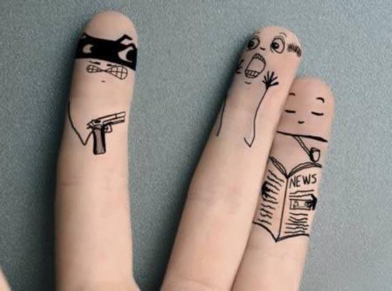Ζωγραφική στα... δάχτυλα! (1)