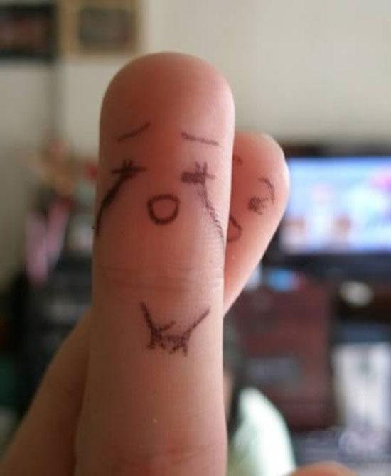Ζωγραφική στα... δάχτυλα! (12)